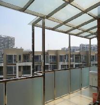 上海万增门窗供应 家用优质不锈钢阳光房 钢化玻璃房