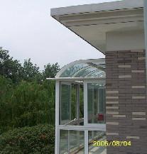 万增门窗 美亚宝 高档阳光房 专用铝合金 落地阳台窗阳光房