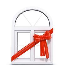 【万增门窗】上海海螺塑钢 欧式阳台窗门窗