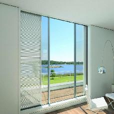 【万增门窗】铝合金落地移门 钢化玻璃 阳台移门