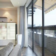 【万增门窗】海螺阳台窗隔断 海螺门窗 海螺塑钢 阳台移门