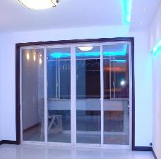 【万增门窗品牌】上海铝合金移门定制 落地阳台窗移门上门测量