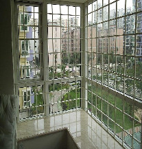 【万增门窗品牌】 上海海螺 60平开系列 落地阳台窗 中空保温窗