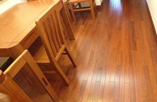 永顺地板 实木地板 实木油漆地板 印茄木910*72-78*18