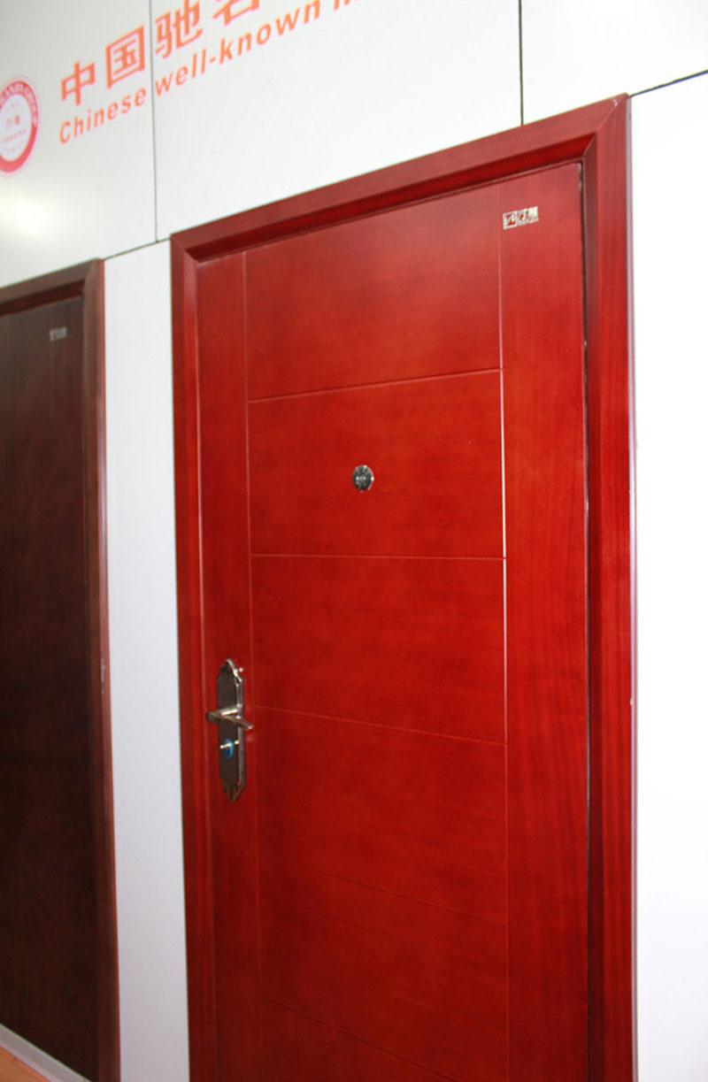 防盗门 中国驰名商标 万嘉防盗门 瑞士风情 上海地区上门安装