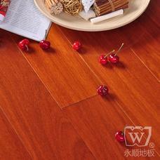 永顺地板 实木地板 二翅豆760*72-78*18