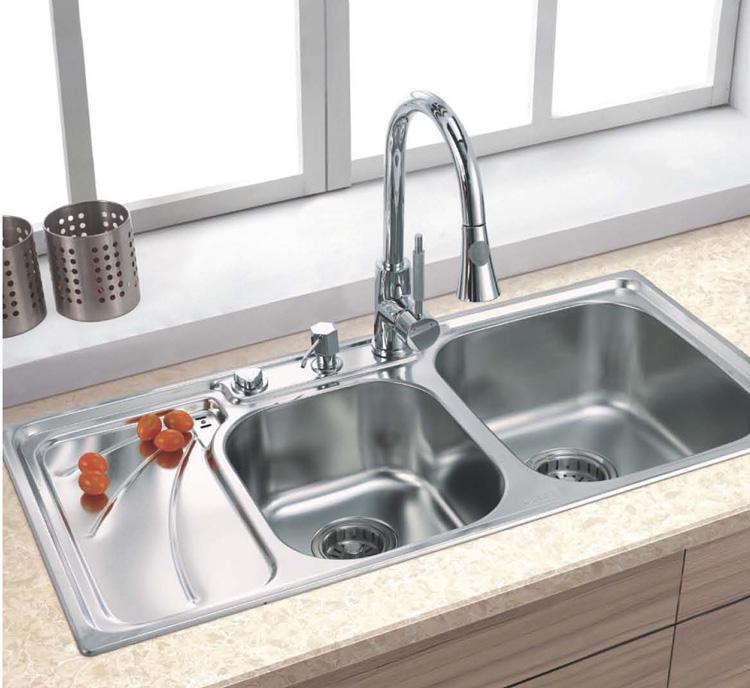 佳德水槽2101fy 不锈钢水槽/洗菜盆 双槽