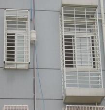上海万增门窗订制彩钢安全防护窗 颜色丰富