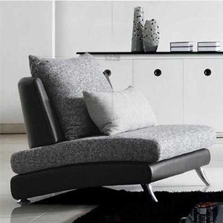 四格  上海沙发单人沙发简约小户型客厅布艺沙发 2008