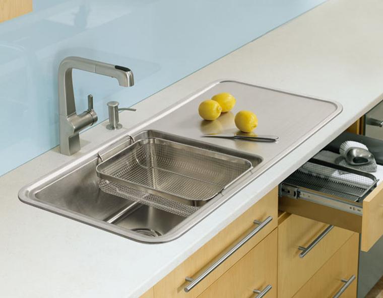 家有 洗 事 妙招巧治厨房水槽堵塞
