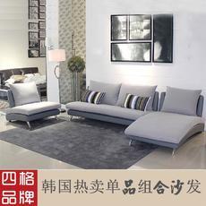 四格 上海转角沙发3人+1人+贵妃简约小户型客厅布艺沙发 2008|上海市区包安装,江浙包送到楼下,时尚大气,可自由组合