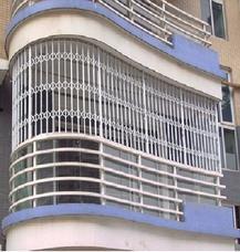 上海万增门窗订做可开启彩钢安全防护窗 颜色丰富