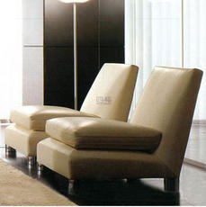 四格单人沙发 时尚沙发高档欧式皮沙发 上海皮艺沙发 835型