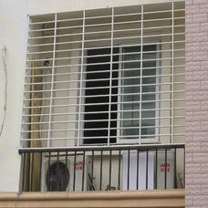 [万增门窗]上海平面彩钢安全防护窗 颜色丰富