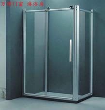 上海万增门窗订做8904型铝合金淋浴房