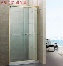 【万增淋浴房】上海淋浴房8902型两移淋浴房