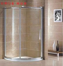 【万增淋浴房】8905型上海铝合金淋浴房