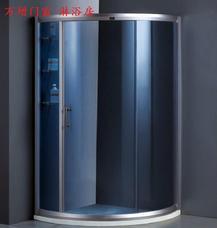 上海万增门窗公司供应圆型8910型淋浴房