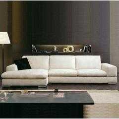 四格厂家直销布艺转角组合沙发 可拆洗 客厅沙发上海沙发-828|江浙市区包送到楼下