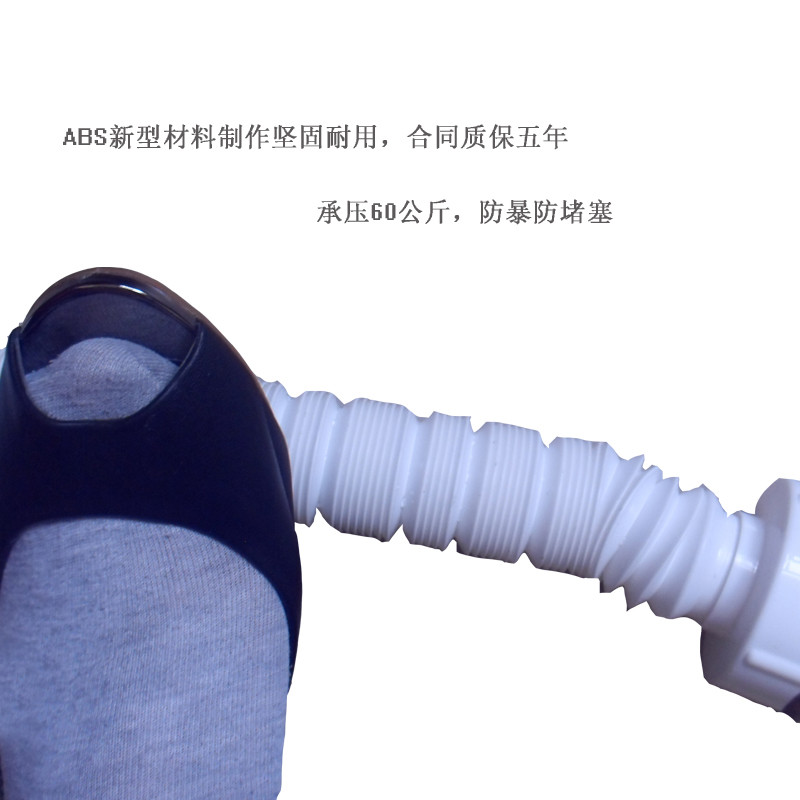 DVI谛唯卫浴塑料下水管PVC图纸/防臭/隔气十二星座面盆积木图片