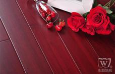 永顺地板 实木地板 实木油漆地板 坤甸铁樟木600*90*18
