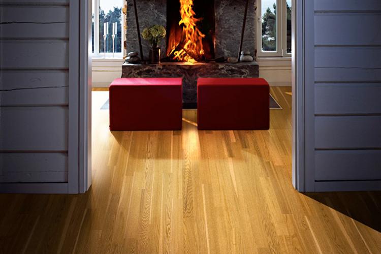 圣象地板 三层实木复合 剑桥橡木ks8371