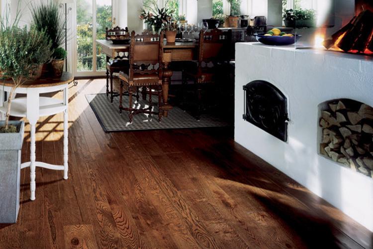 圣象地板 三層實木復合 黃金板2號sx1502