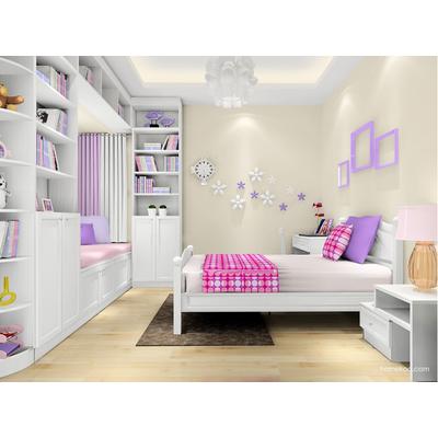 尚品宅配 女孩儿童房定制 青少年房家具设计 免费量尺