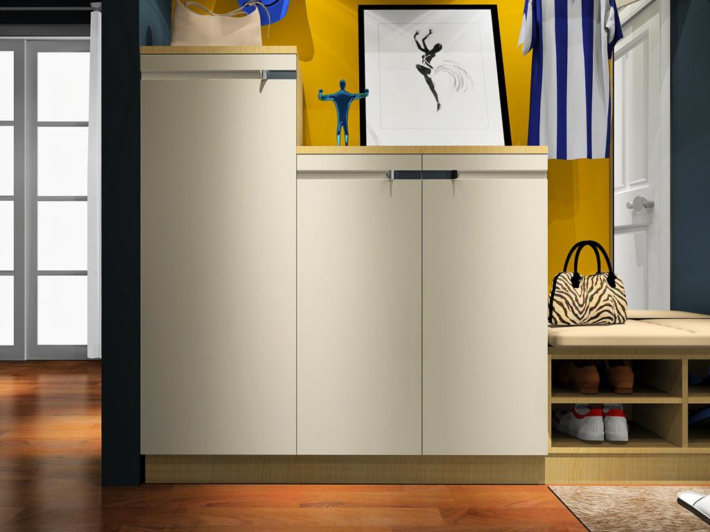 多层次鞋柜定制 定制鞋柜方案 免费预约就可得方案图片
