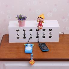 首度家居 宜家超大号创意收纳理线盒集线盒绕线盒子 特价包邮