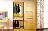 实木生态板衣柜限白色◆637小百叶移门衣柜|2.5日真南路店15套找邓总