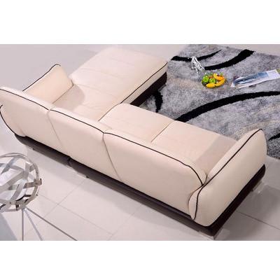 欧宝沙发 朗驰皮沙发s058 现代系列 意大利头层牛皮沙发图片