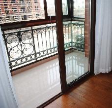 【万增门窗】上海节能80断桥移门中空玻璃门 断桥铝门窗