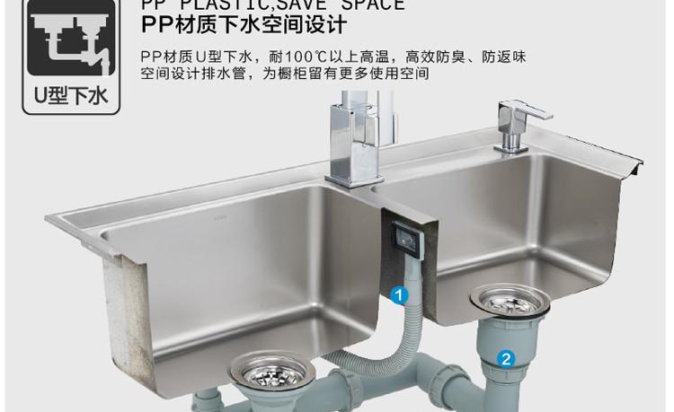 摩恩水槽安装说明书_moen摩恩水槽mcl313sl龙头5069皂液器70