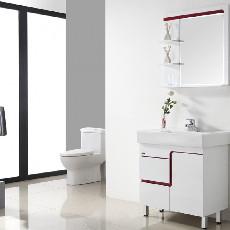 箭牌卫浴旗舰店 现代风 PVC浴室柜APG348A-D