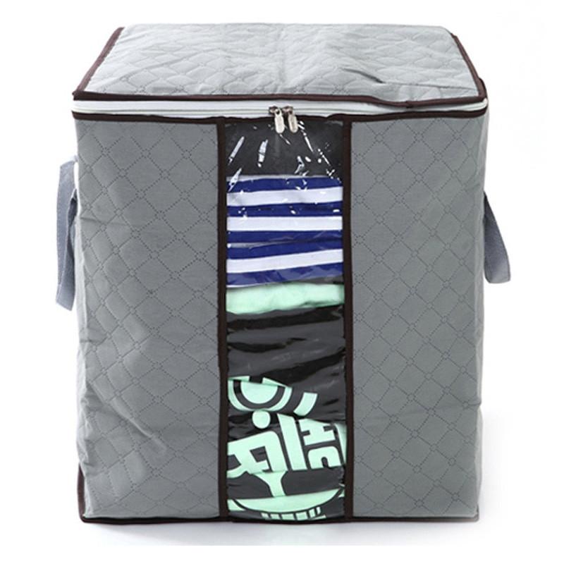 喜家家 竹炭衣物储存袋/收纳袋 ZT-001 单次购买2件以上更划算哦