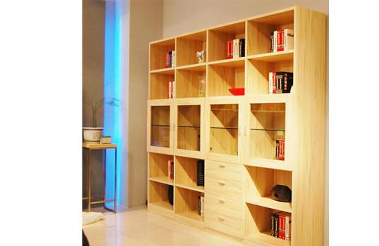 金苹果衣柜 欧式简约书柜图片图片