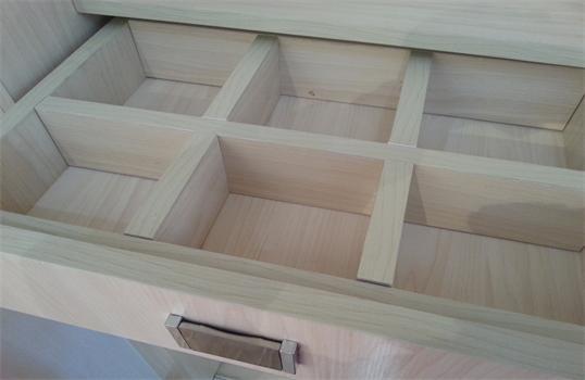 斯华奇橱柜衣柜 生态实木白枫 整体衣柜柜体