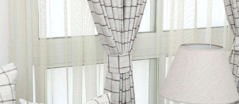 玛格 简约现代布艺客厅卧室窗帘书房定制窗帘 飘窗窗帘