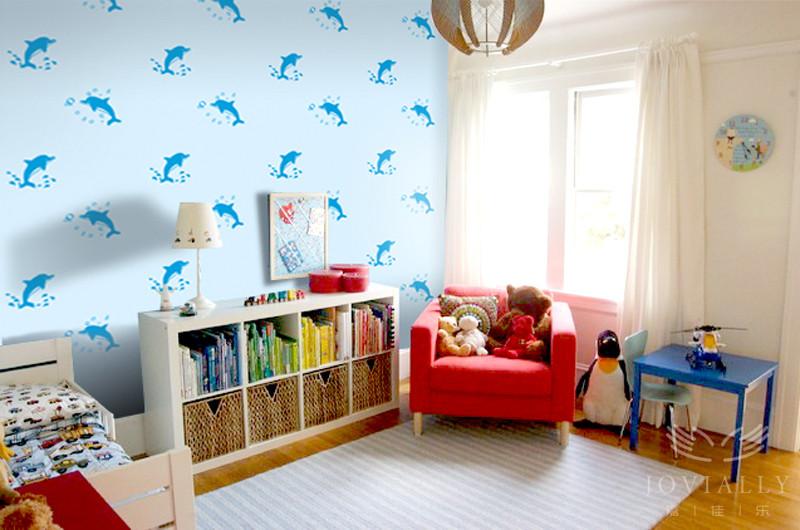 嘉佳乐硅藻泥 儿童房 平面印花系列