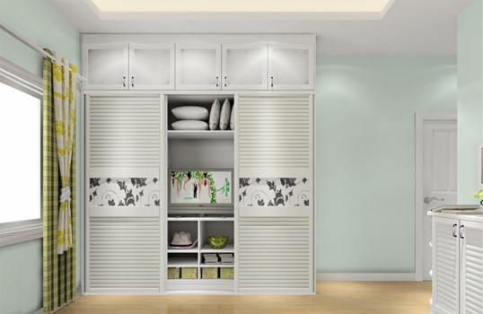 滑门衣柜内部设计图