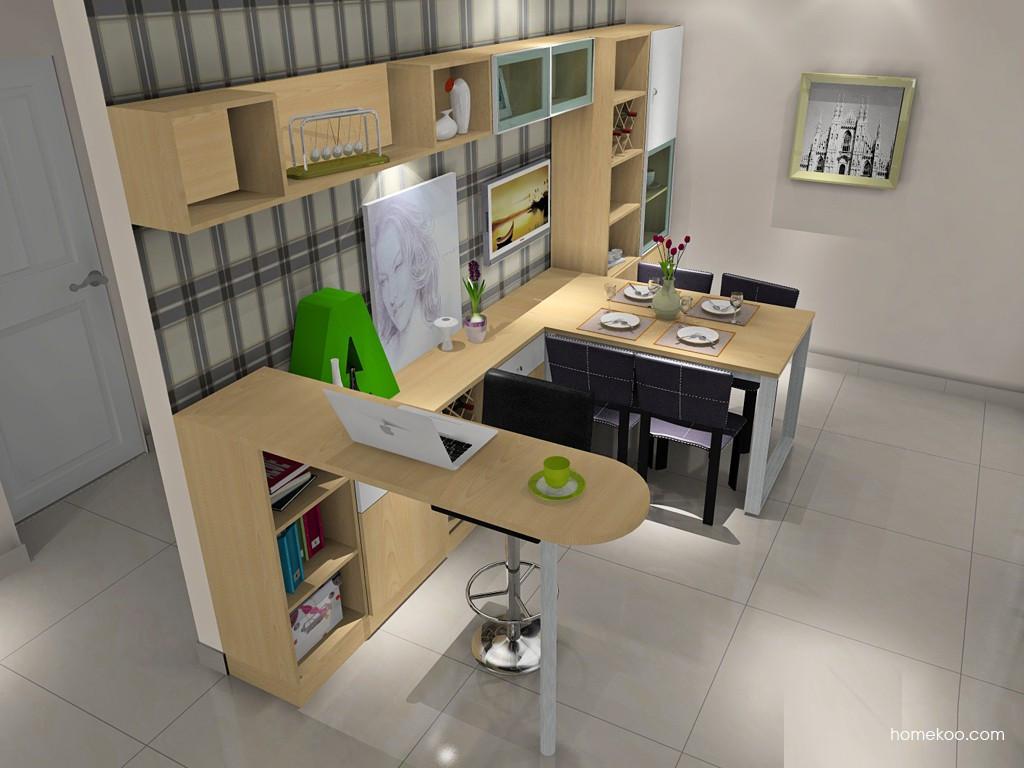 浦江坤庭 c户型 全屋家具定制方案 3d效果图展示