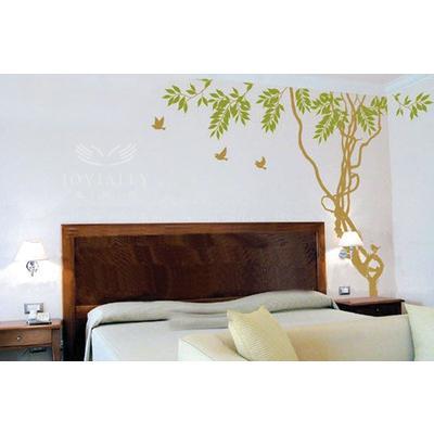 艺术背景墙 硅藻泥 嘉佳乐硅藻泥 客厅卧室艺术弹涂 jy-069 庭荫树