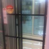 【达芬奇密码】钢化车刻方格◆厨房阳台移门、衣柜