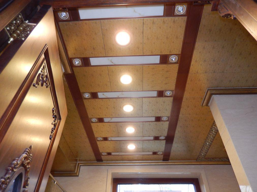 高端大气上档次厨房卫生间客厅餐厅阳台集成吊顶