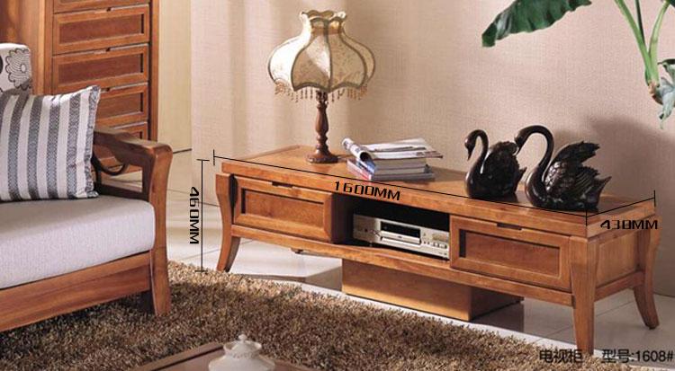 家具包邮1608西南现货实木电视柜环保客厅现厂家一兆_那里桦木在?图片