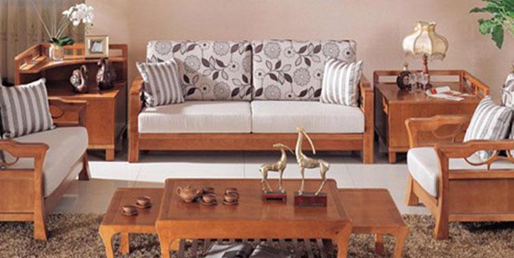 现货包邮A208西南桦木实木客厅环保家具现代除沙发甲醛龙岩图片