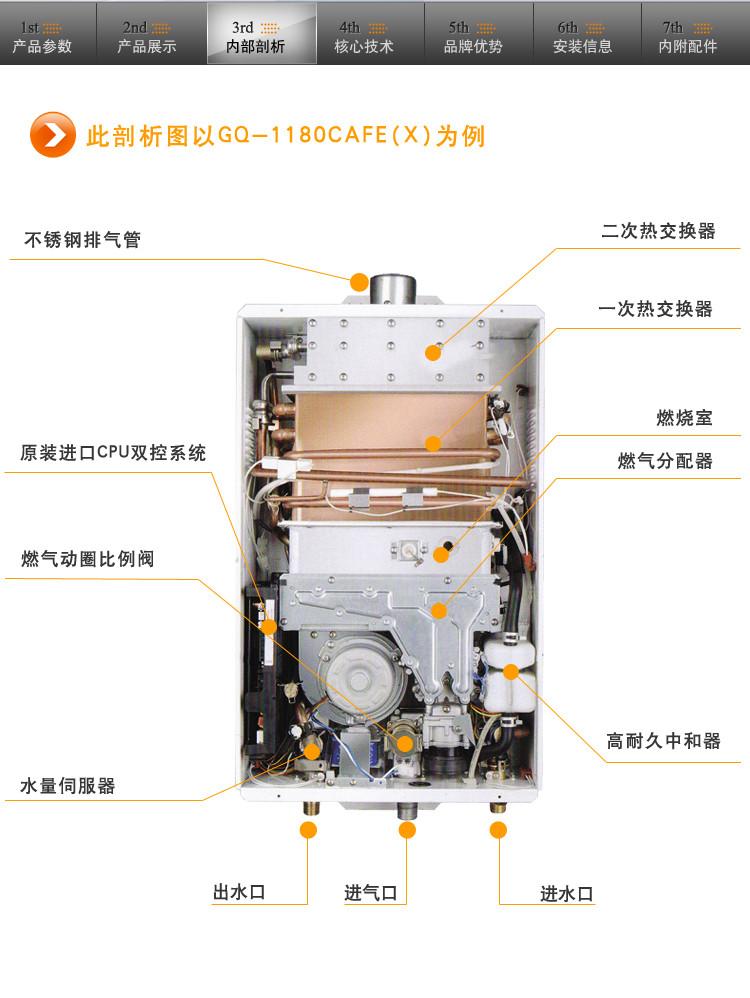 恒温 燃气热水器