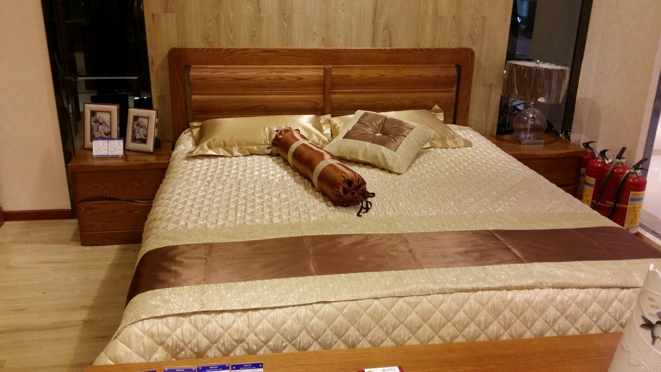 光明家具家具床,重庆齐家家居专营店,家居,家具橡木金属管图片
