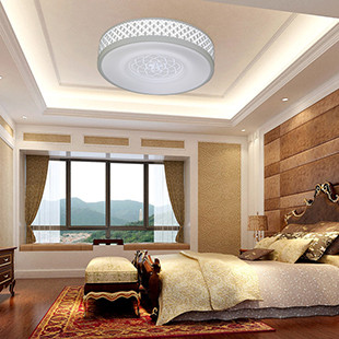 mofa 客廳臥室書房餐廳一體化鋁材平板led吸頂燈 r6013 燈飾燈具